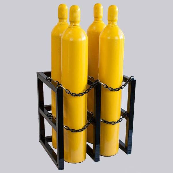 2d2w Gas Cylinder Storage Rack - Certified Medical