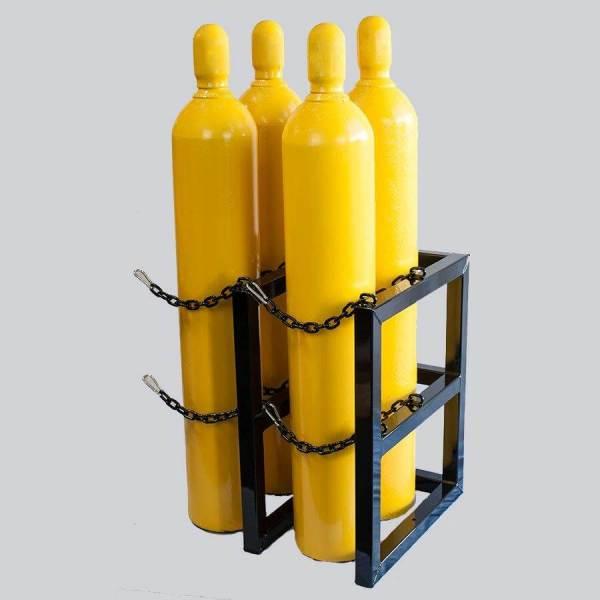 2d2w- Gas Cylinder Storage Rack - Certified Medical