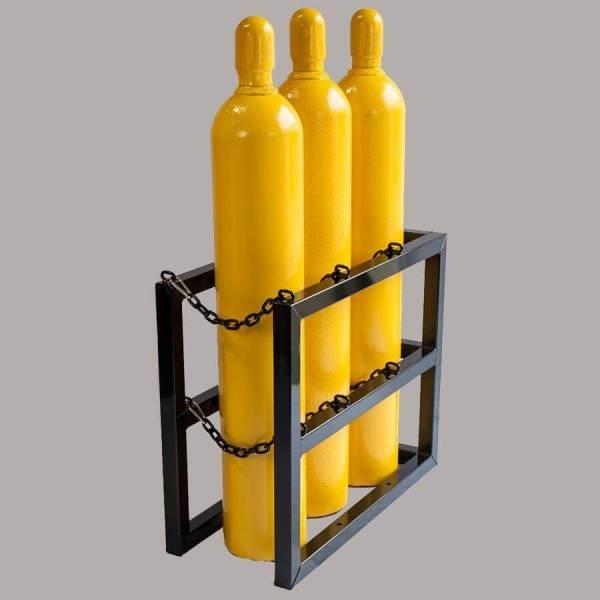 3d1w Gas Cylinder Storage Rack - Certified Medical
