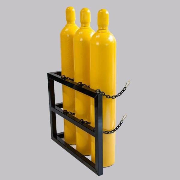3d1w-l Gas Cylinder Storage Rack - Certified Medical