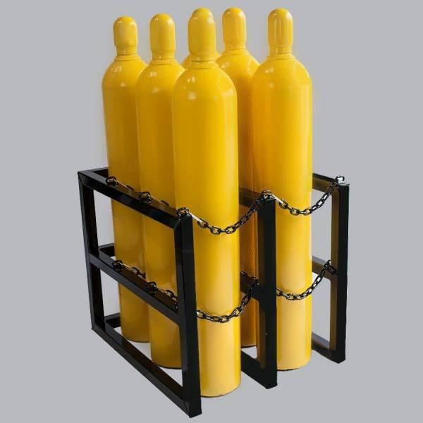 3d2w Gas Cylinder Storage Rack - Certified Medical