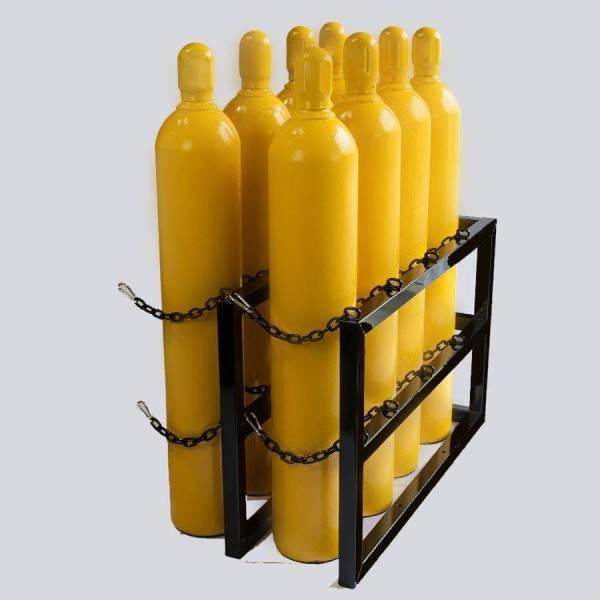 4d2w- Gas Cylinder Storage Rack - Certified Medical