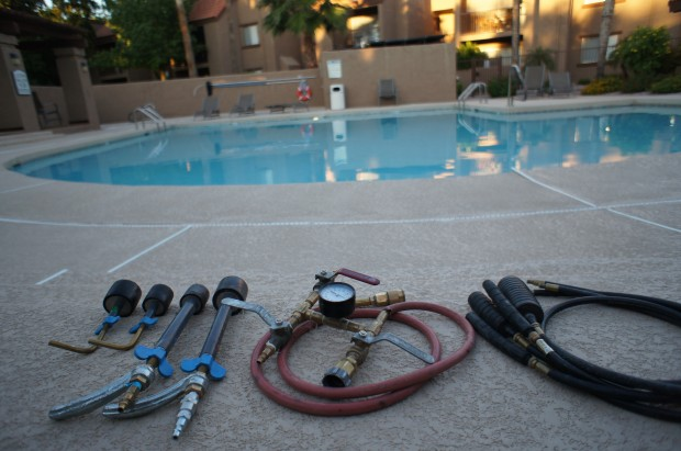 Got a Pool Leak? Don´t let it drain you. Call Certified Pool Leak Detection