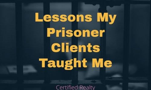 Lessons My Prisoner Clients Taught Me