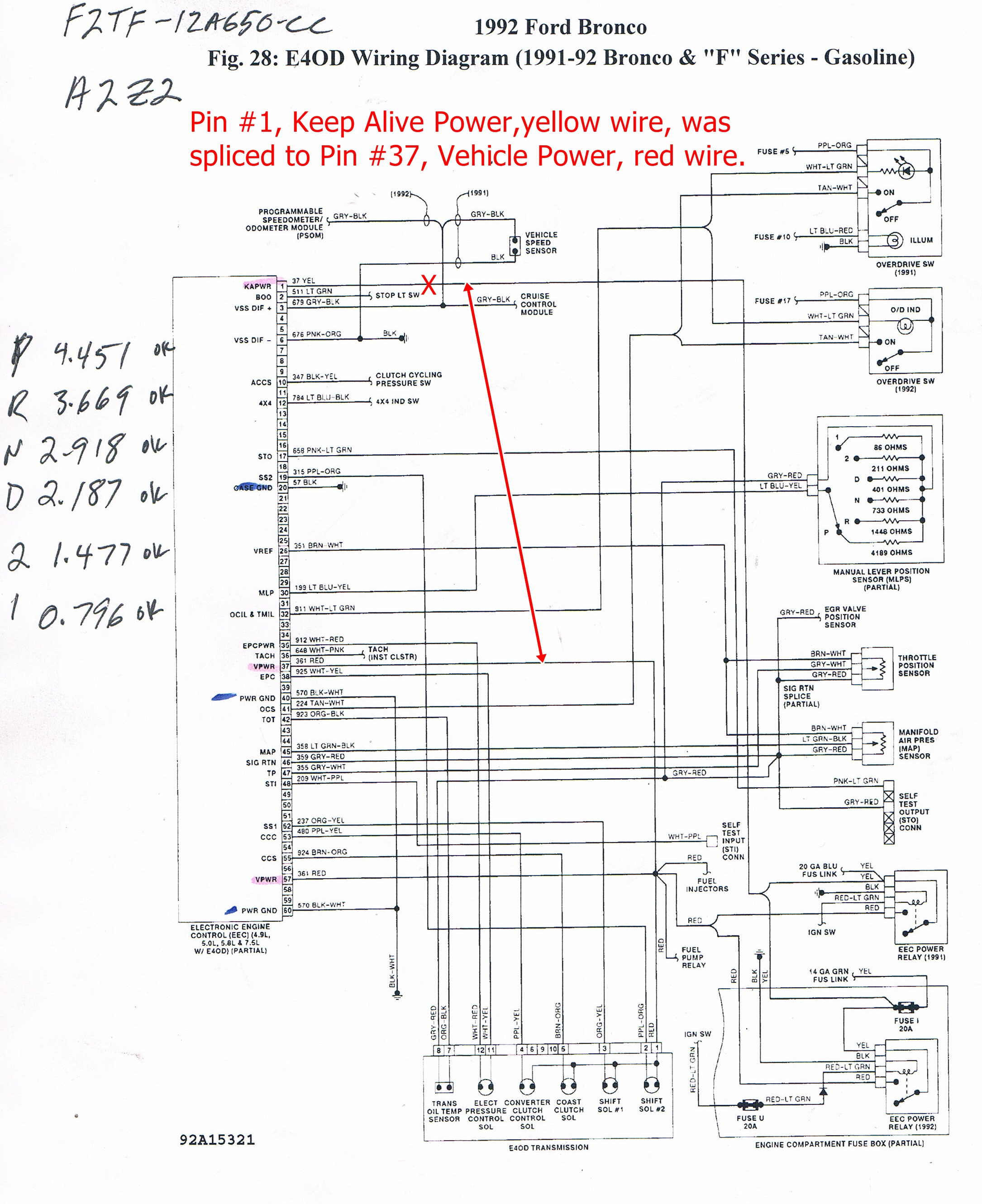 medium resolution of 99 windstar transmission wiring diagram