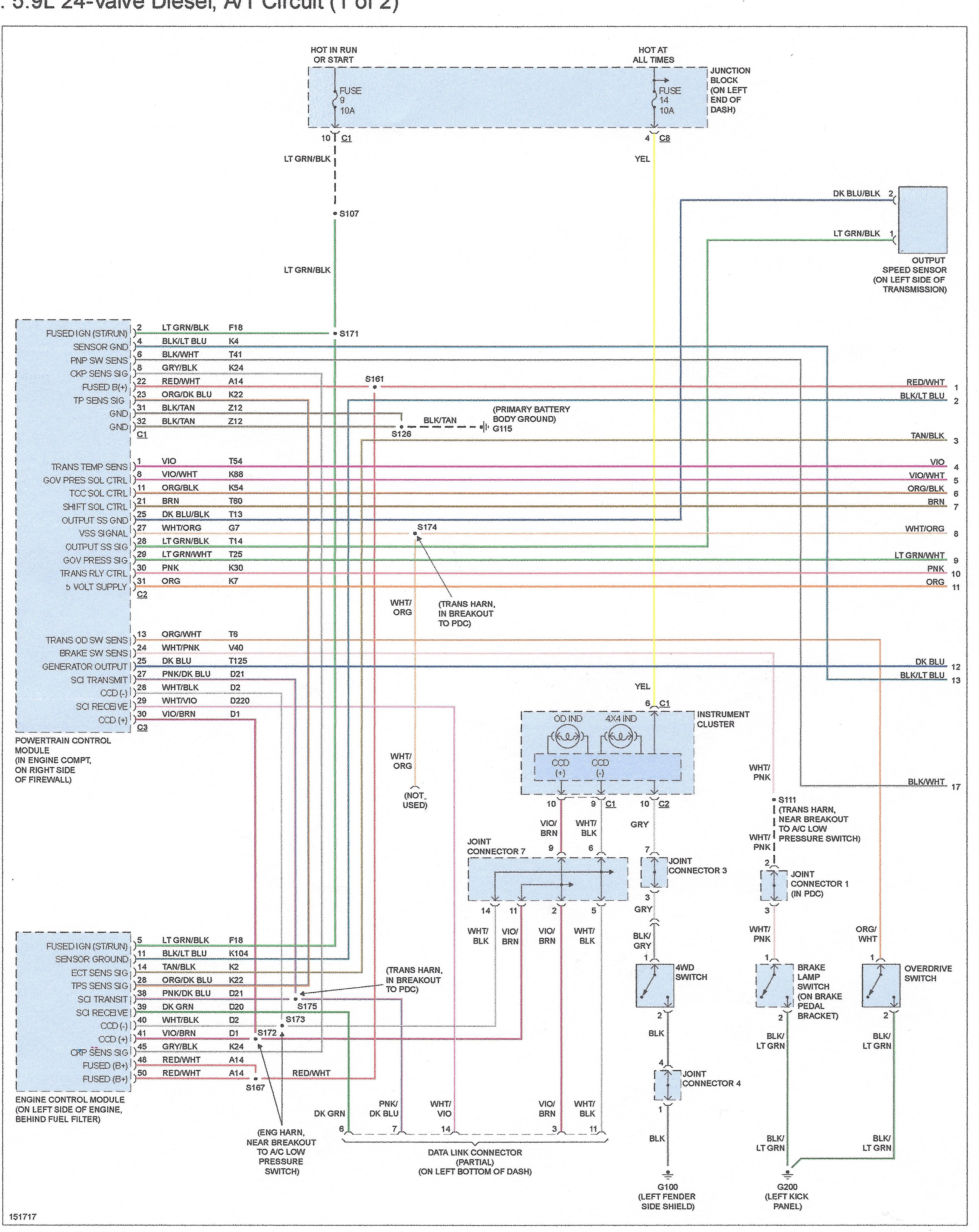 solving dodge diesel tcc lockup issues by eliminating connectors rh certifiedtransmission wordpress com 2012 dodge ram wiring diagram dodge ram light wiring  [ 3768 x 4740 Pixel ]