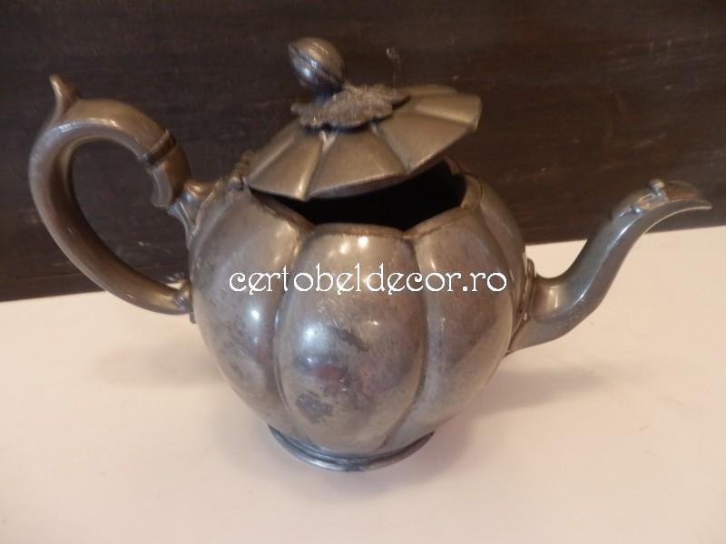 pewter teapot James Dixon  Sons Sheffield  Certobeldecor