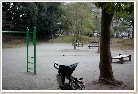 人気のない公園