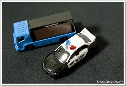 テコロジートミカ TT-07 アドトラック & TT-08 スバル インプレッサ WRX STI 4door ポリスカー