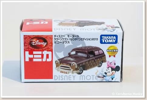 トミカ ディズニーモータース ラグーンワゴン バレンタインエディション2013 ミニーマウス