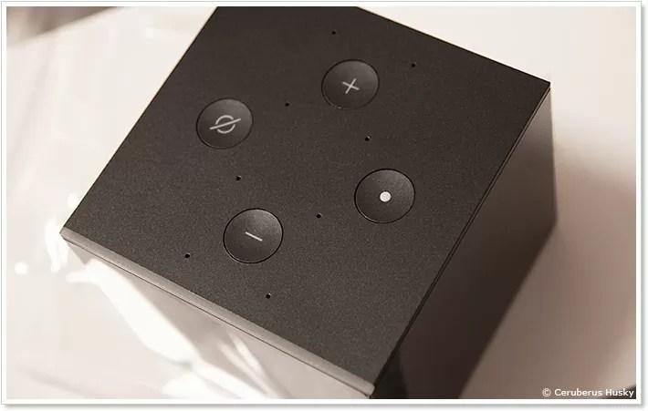 Fire TV Cubeの上面のボタン類