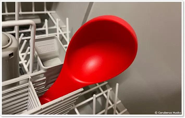 食洗機で洗う
