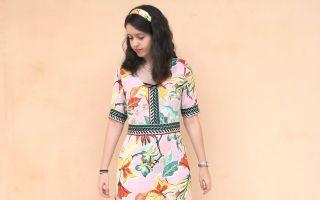 DIY vestido cenefa
