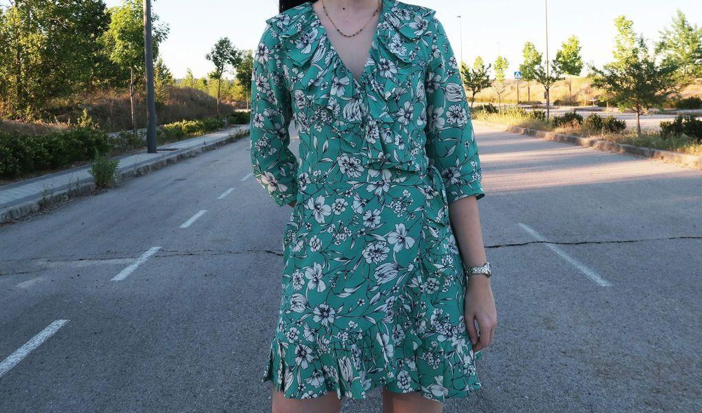 DIY: vestido cruzado con volantes