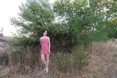 DIY: vestido vichy corto tirantes