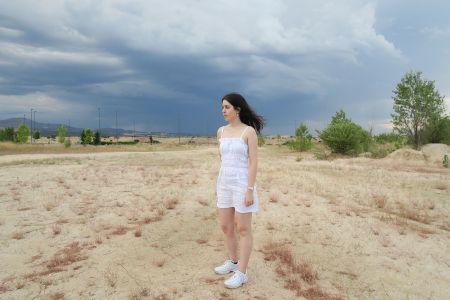 DIY: vestido tirantes lino fruncido