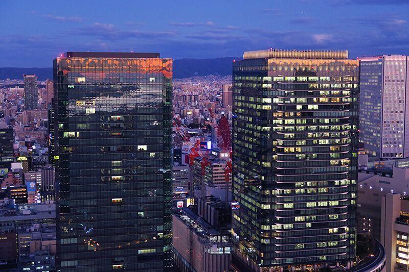 Guia de viaje: Osaka - Umeda Sky Building