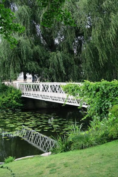 Jardines del Jardín Botánico de Copenhague, Dinamarca