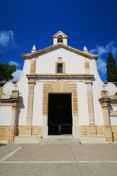 Subida al Calvario en Pollensa, Mallorca, España