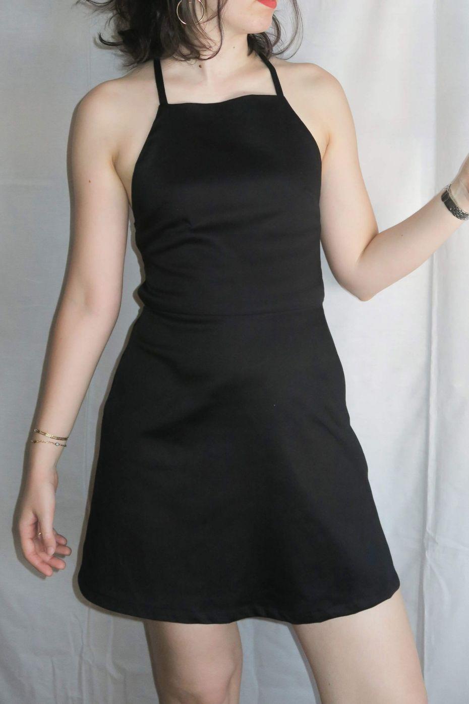 Tutorial costura DIY: vestido mini con espalda al aire