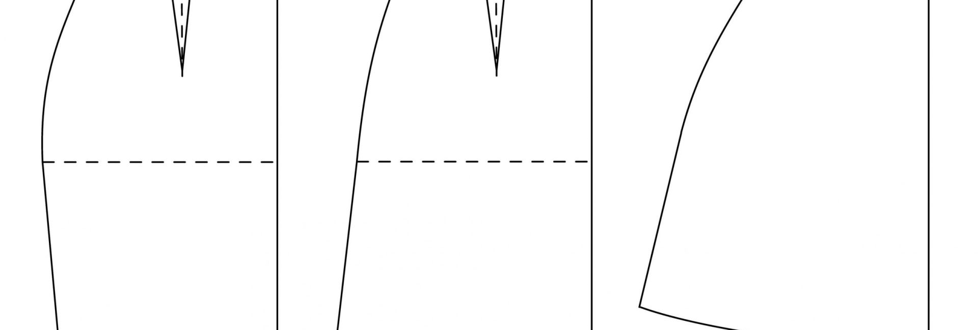 Tutorial patronaje: cómo añadir o quitar vuelo a un patrón de falda