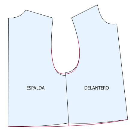 Tutorial patronaje: cómo comprobar las formas y medidas de un patrón