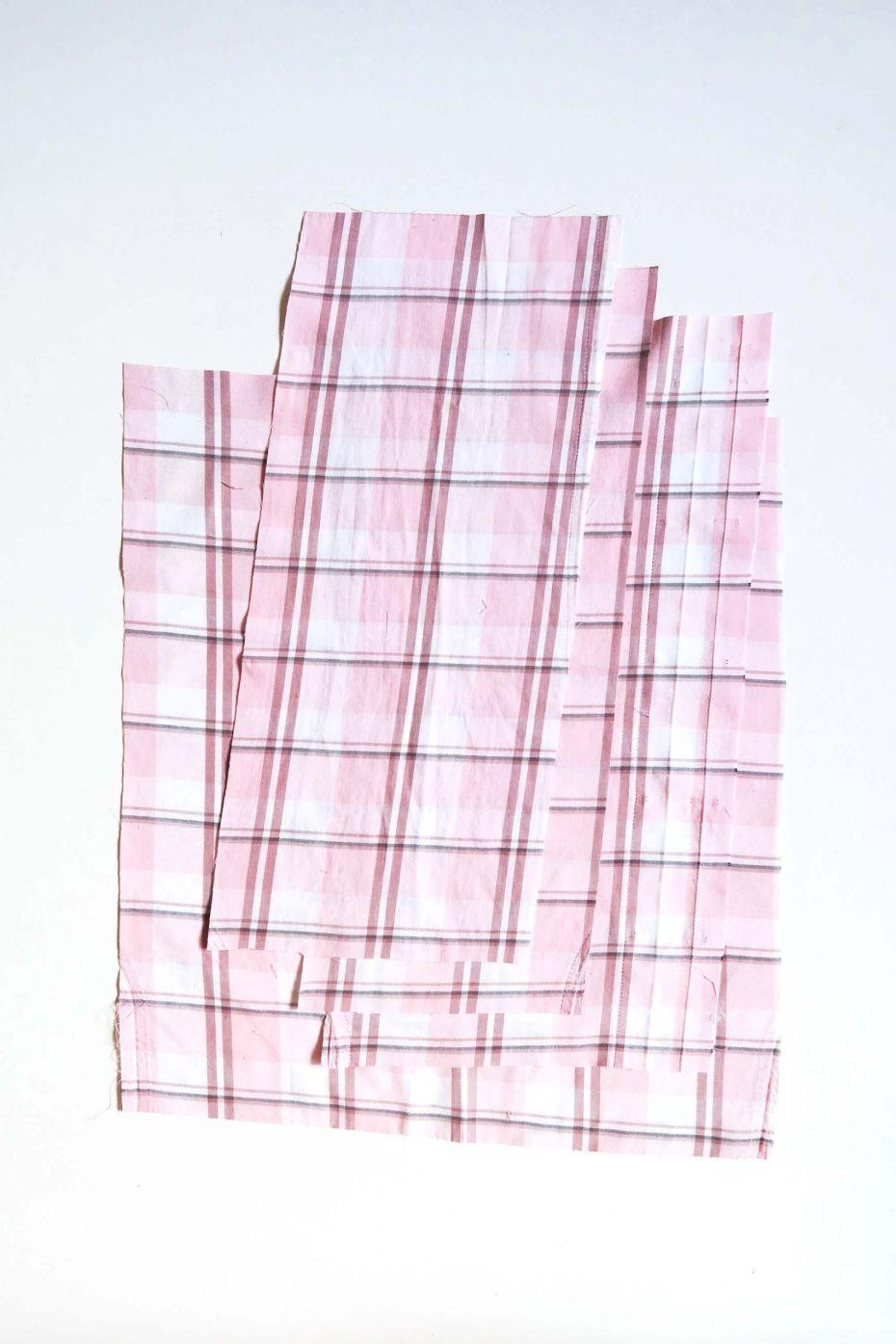 Tutorial reciclaje ropa: DIY falda tablas patchwork, tejido para hacer las tablas