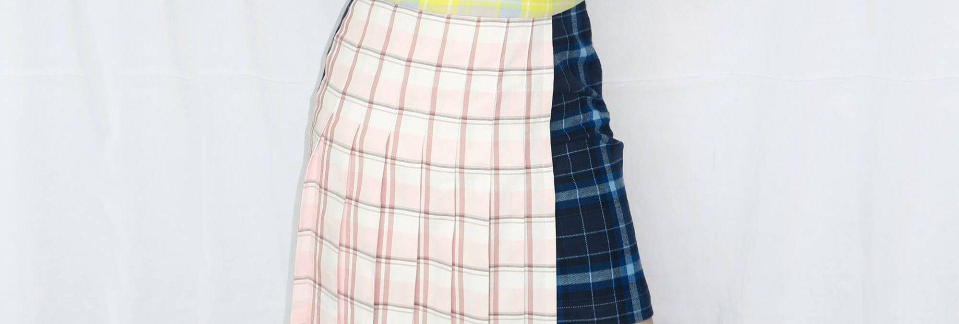 Tutorial reciclaje ropa: DIY falda tablas patchwork