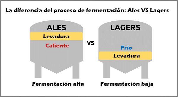 levadura alta fermentacion