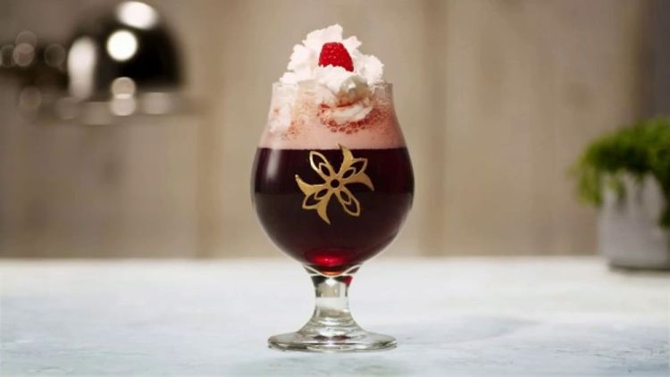 Kriek Beer Float