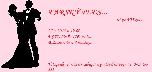 Farský ples