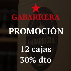 Promo Gabarrera 12 cajas 30% descuento