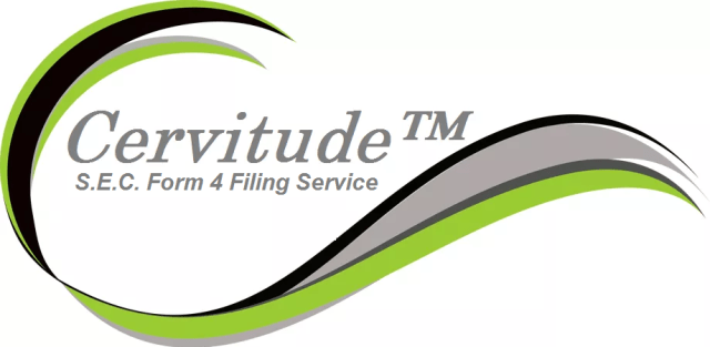 Sec Form 4 >> Form 4 Statement Of Changes In Beneficial Ownership Cervitude