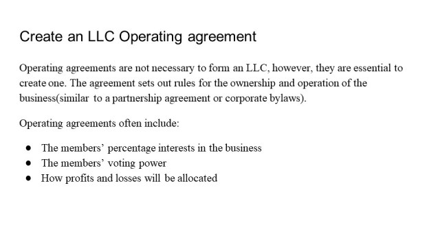 Forming an LLC Georgia 5