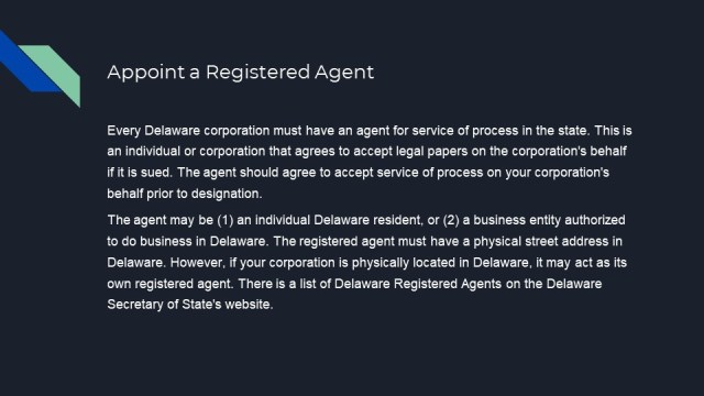 How to Form a Corporation in Delaware 4