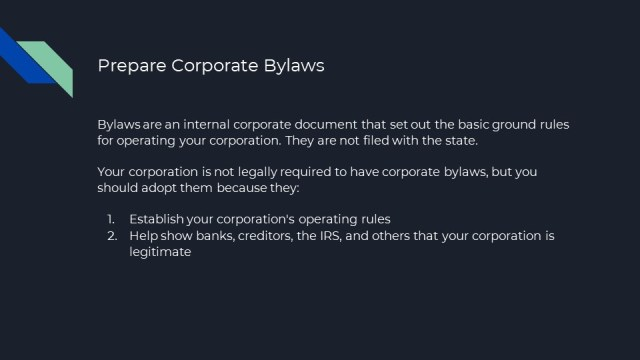 How to Form a Corporation in Florida 6