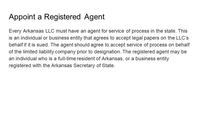 How to Form an LLC in Arkansas 4
