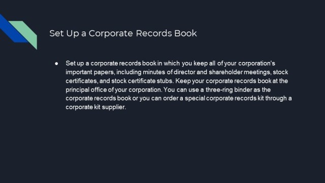 How to Form an S or C corporation in Illinois