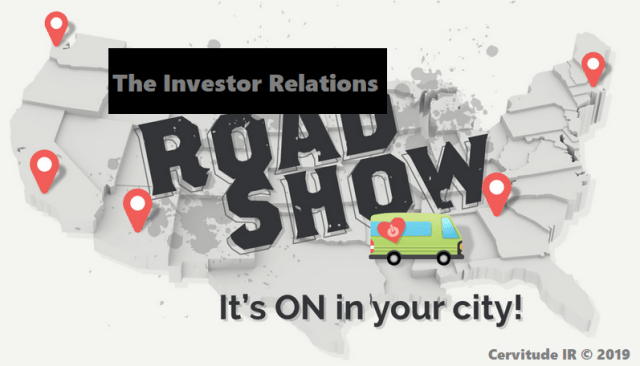 investor relations road show