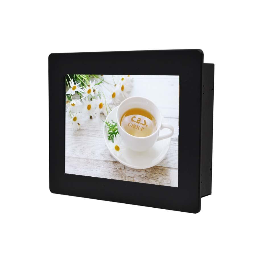 15インチ パネル取付デザイン産業用LCDモニター