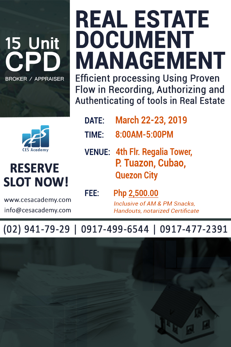 CPD Real Estate : Real Estate Document Management