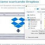 Dropbox archiviazione online installazione