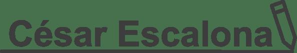 César Escalona Copywriter Logotipo #Cesar #Escalona #Copywriter #CesarEscalona.com