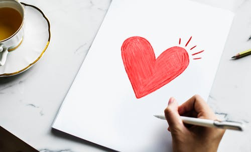 el copywriting y el amor corazon