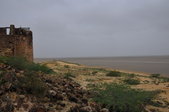 Ishan Agarwal. View of the little Rann frm Lakhpath fort. 2009. Kacchh, Gujarat.
