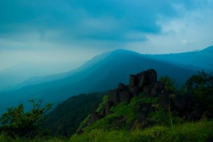 Diptarup Nandi. From Kurinjal peak. 2008. Kudremukh.