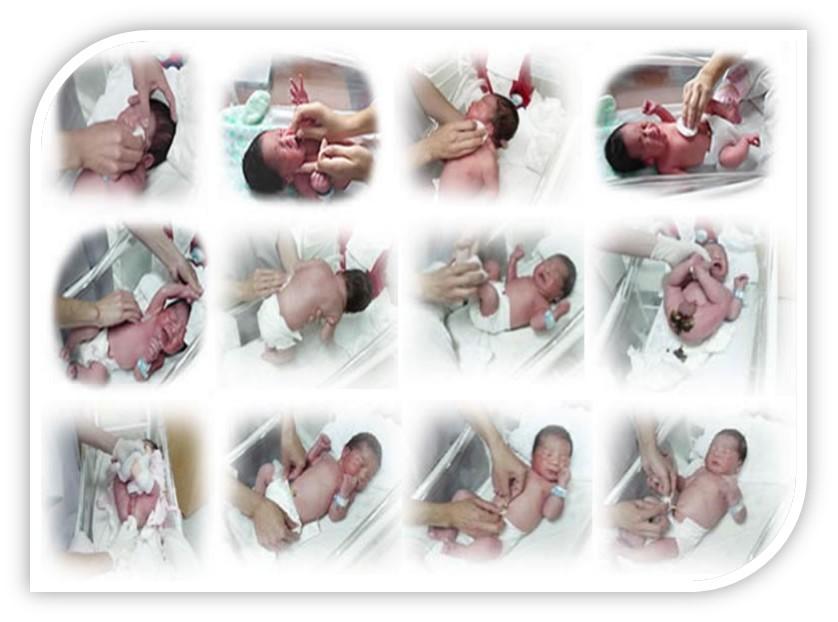 Bano Recien Nacido Excellent Un Beb Recin Nacido Nia Obtiene Su Primer Bao En El Hospital Martha Jefferson De Va With Bano Recien Nacido