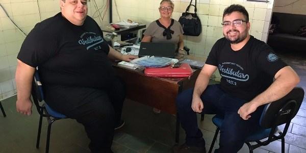 Faculdade Santo Agostinho visita escolas de Valença do Piauí e aborda as áreas do novo vestibular