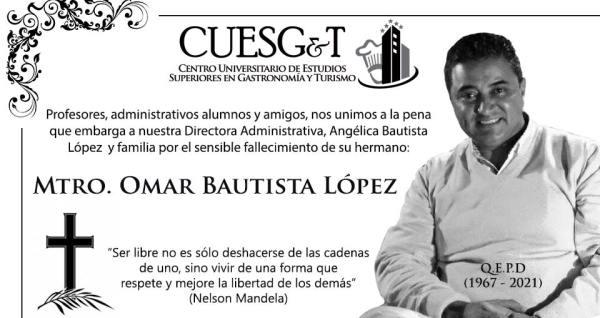 Omar Bautista Lopez (En Memora)