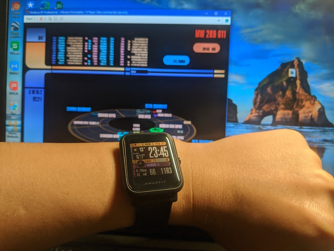 amazfit-bip-inspired-by-a-scrsaver-on-winxp